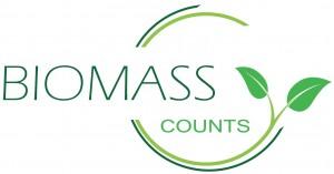 """logo de la campaña """"La biomasa cuenta"""""""