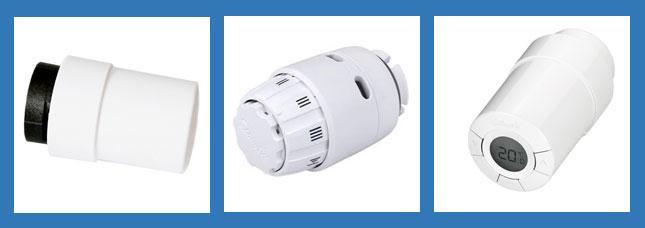 tipos de cabezales termostáticos