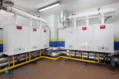 Las calderas comunitarias que son eficientes energéticamente tienen muchas ventajas respecto a las calderas individuales.