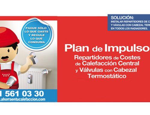 ¿En qué consiste el Plan de Impulso de Repartidores de Costes de Calefacción Central de la Comunidad de Madrid?