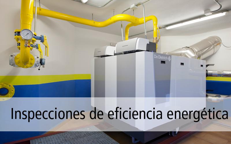 Inspecciones de eficiencia energética en la Comunidad de Madrid