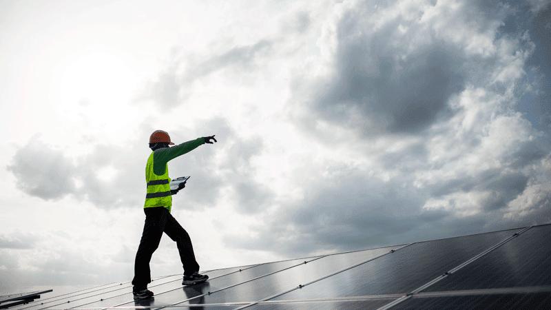 Placas solares fotovoltaicas