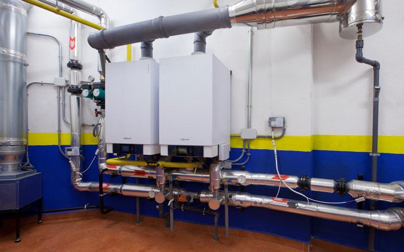 caldera mural calefacción central