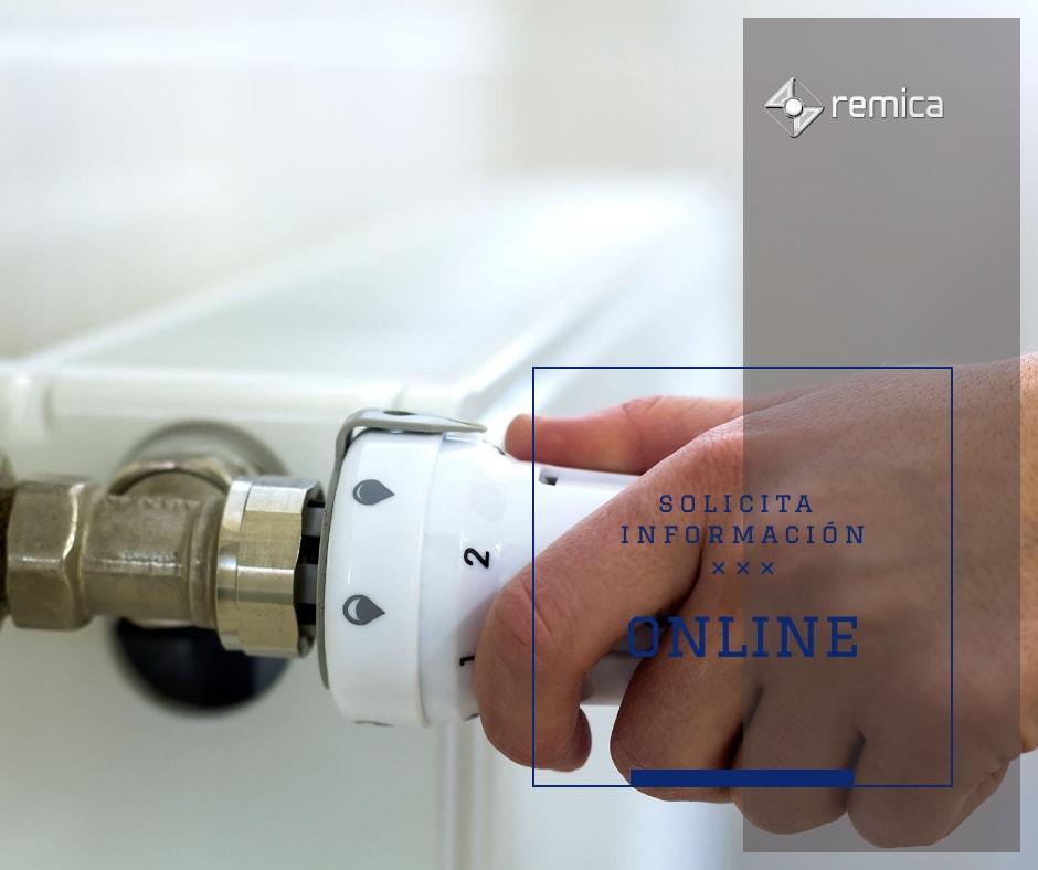 Solicita información online a remica y soluciona los problemas de desequilibrio térmico de calefacción central