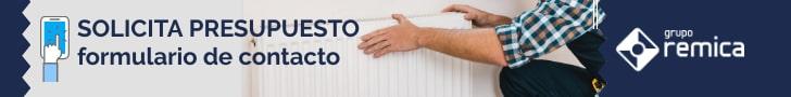 Solicite presupuesto sin compromiso Remica calefacción central