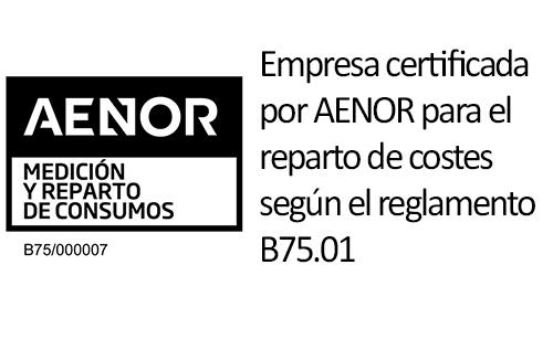 Remica es una empresa certificada por AENOR para reparto de costes