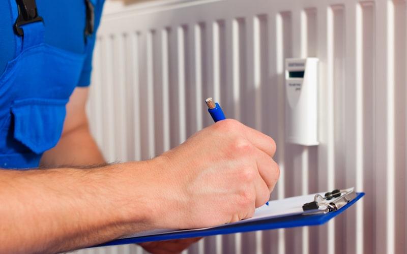 requisitos empresa calefacción central